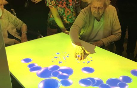 dementia interactive table