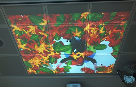 interactive projector ceiling