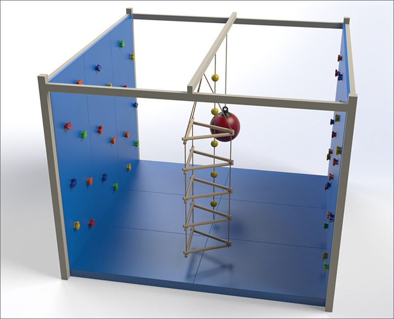 combination climbing cube