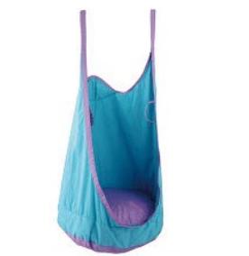 Pod Chair Swing Blue Purple