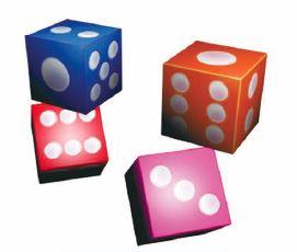 dice building block set